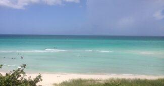 Maravilhosa praia de Varadero