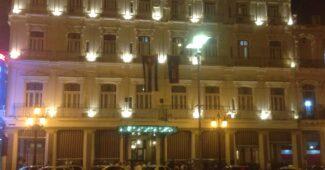 Foto do hotel Inglaterra, centro de Havana